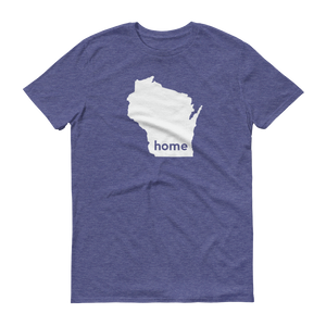 Wisconsin Home T-Shirt - Home Sweet Pillow Co
