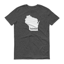 Load image into Gallery viewer, Wisconsin Home T-Shirt - Home Sweet Pillow Co