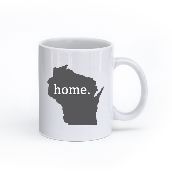 Wisconsin Home State Mug - Home Sweet Pillow Co
