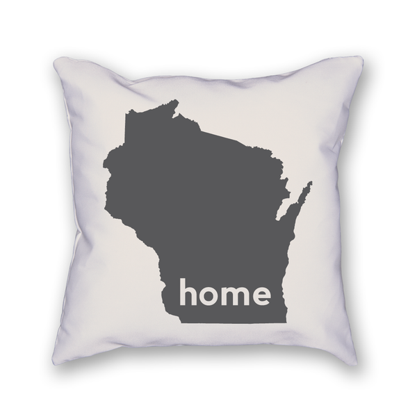 Wisconsin Pillow - Home Sweet Pillow Co