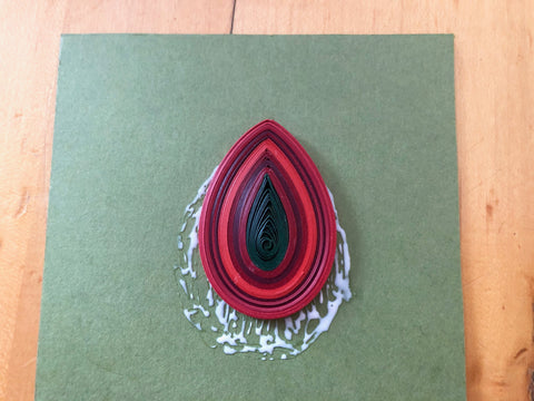 Happy Holidays Quilling Pendant image 10