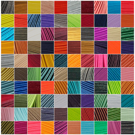Complete Set of 140 Colors