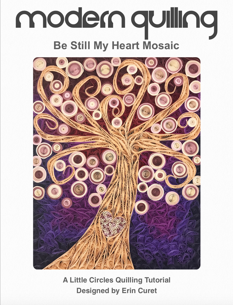 Be Still My Heart Mosaic Digital PDF Tutorial