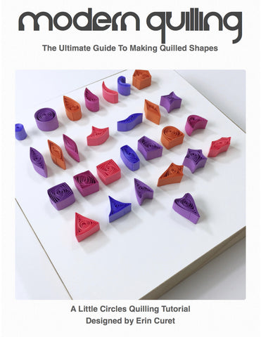 The Ultimate Guide To Making Quilled Shapes Digital PDF Tutorial