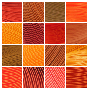 15 Shades of Orange