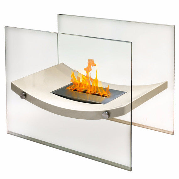 898392002098 Broadway Floor Standing Bio ethanol bioethanol indoor fireplace Anywhere Fireplace 90209