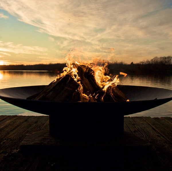 "Asia 72"" Wood Burning Fire Pit"