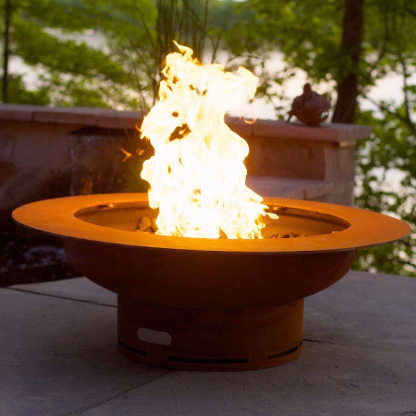 Saturn Natural Gas or Propane Fire Pit