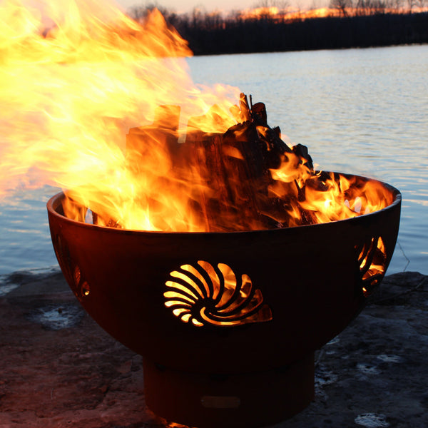 Fire Pit - Beachcomber Outdoor Fire Pit By Fire Pit Art