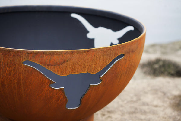 Fire Pit - Longhorn Outdoor Fire Pit By Fire Pit Art