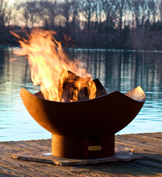 Fire Pit - Manta Ray Outdoor Fire Pit By Fire Pit Art