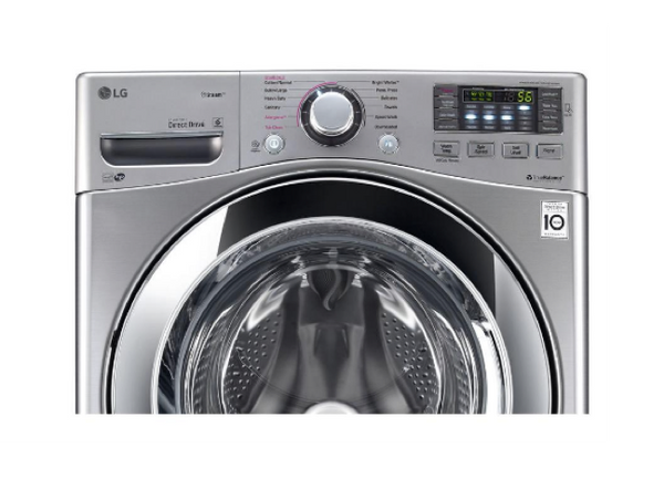 LG 4.5 CU. FT. GRAPHITE STEEL WITH STEAM CYCLE FRONT LOAD WASHER - ENERGY STAR image 25737519758