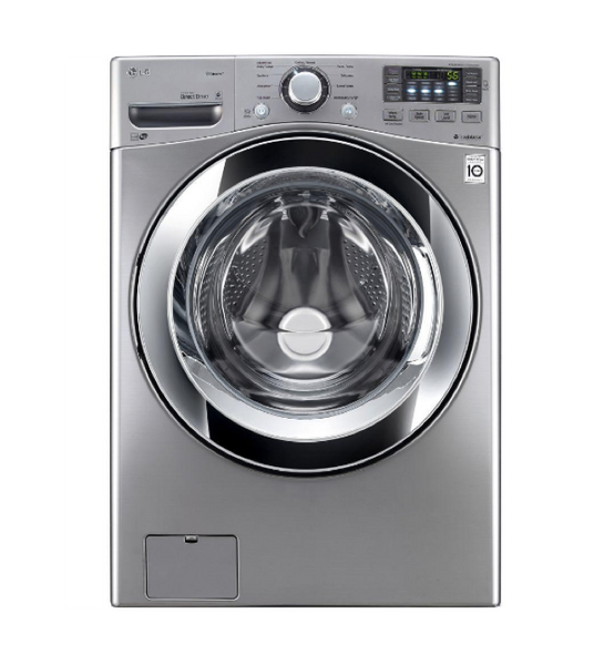 LG 4.5 CU. FT. GRAPHITE STEEL WITH STEAM CYCLE FRONT LOAD WASHER - ENERGY STAR image 25737519694