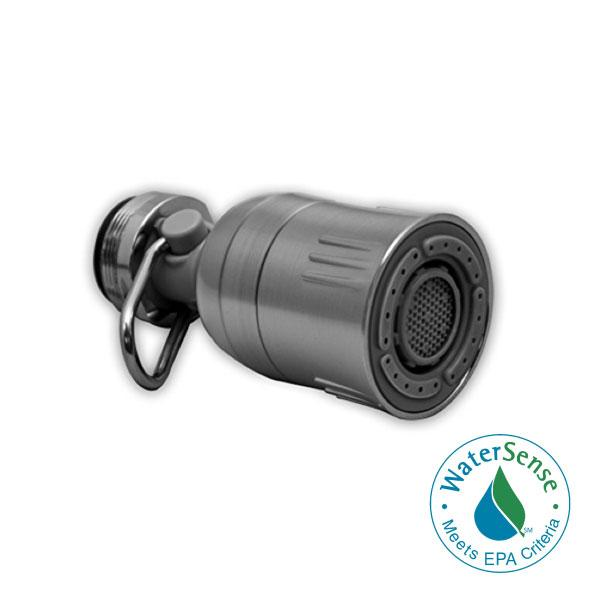 Niagara Dual Spray Swivel Faucet Aerator with Pause Valve