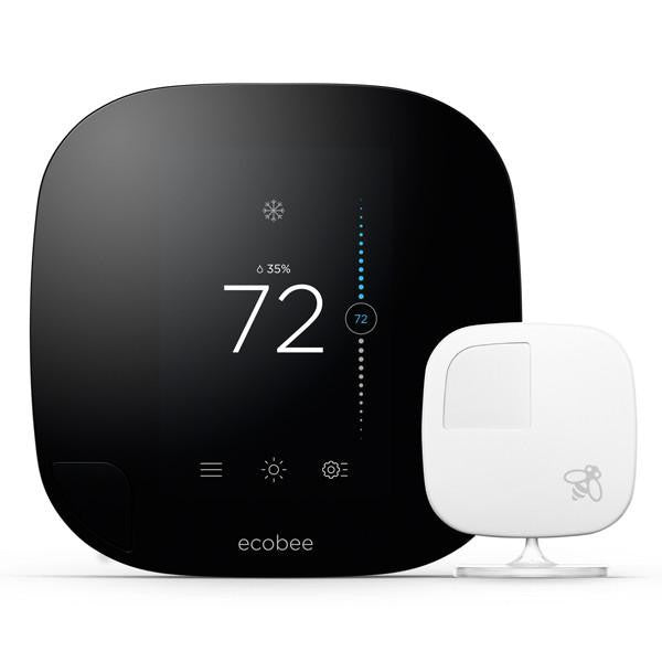 ecobee3 Homekit-Enabled with Remote Sensors Front Image on White Background