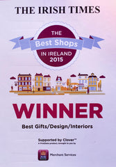 Industry & Co named winner of Best Shop in Ireland for gifts, design and interiors""