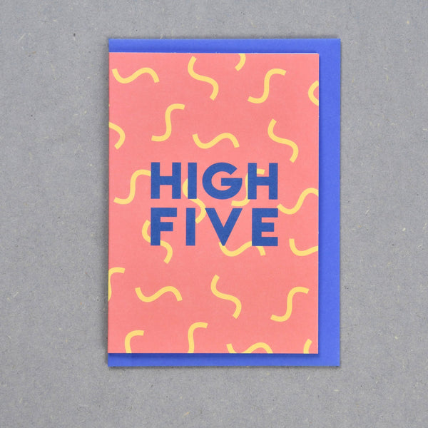 Greeting Card - Cub - High Five