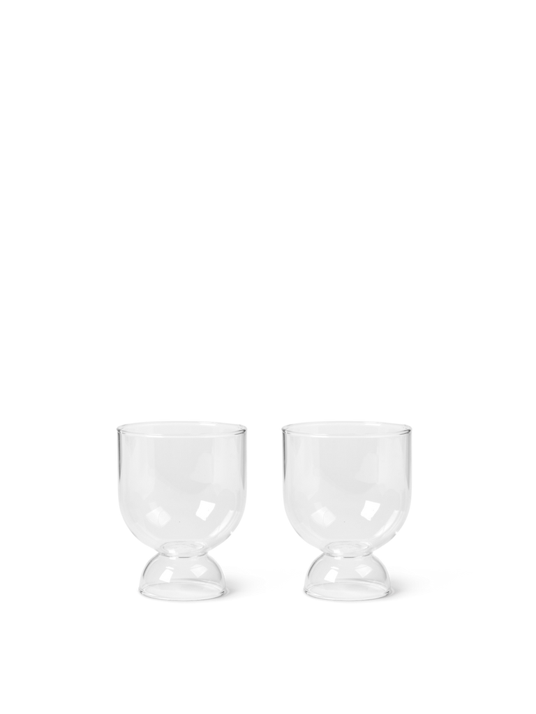 Glasses - Still - Set Of 2 - Clear