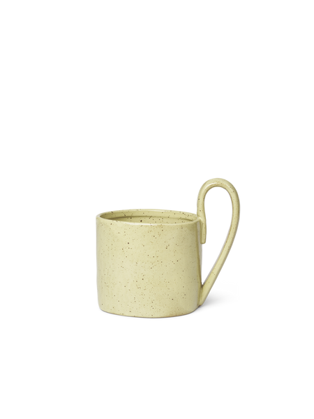 Flow Mug - Yellow Speckle