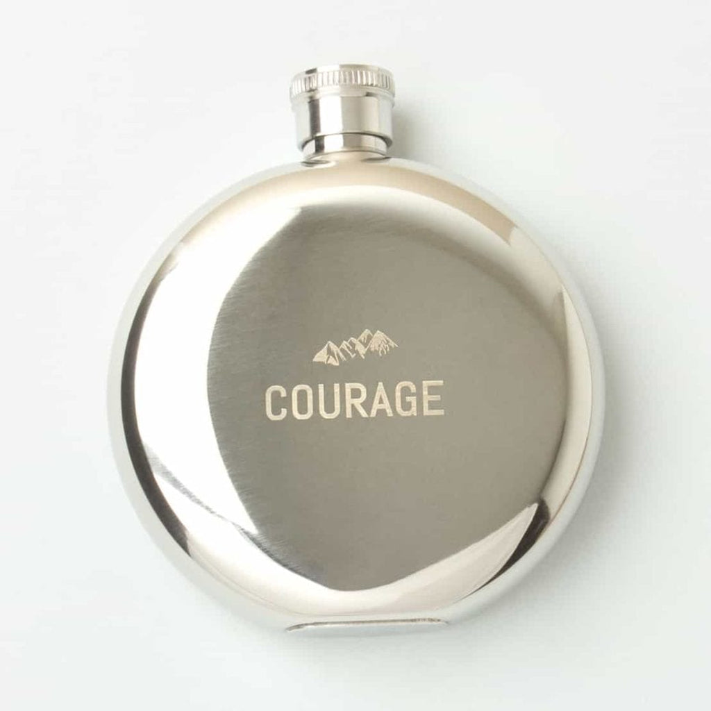 Hip Flask - Courage