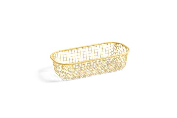 Tray - Trinkets - Wire - Light Yellow