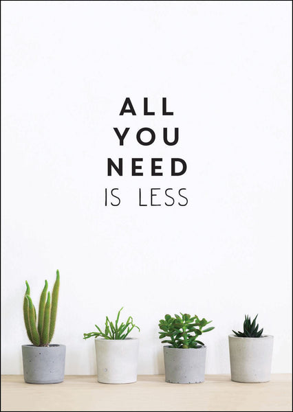 Book - All You Need Is Less