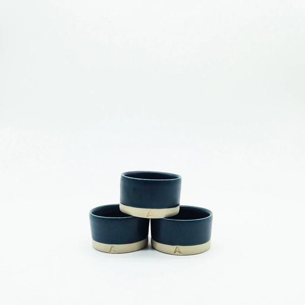 Hand Thrown Tealight Holders - Arran St East X Industry - Ink