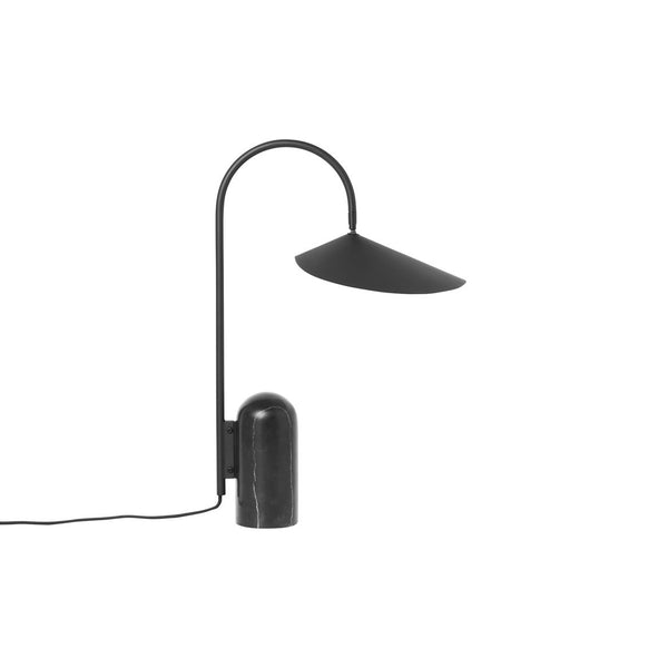 Table Lamp - Arum - Black Marble