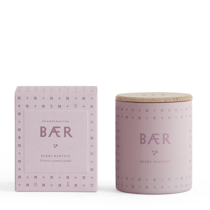 BÆR Scented Candle - Berry Harvest