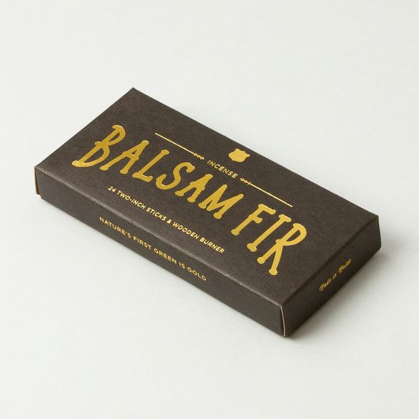 Incense - Balsam - With Wooden Holder