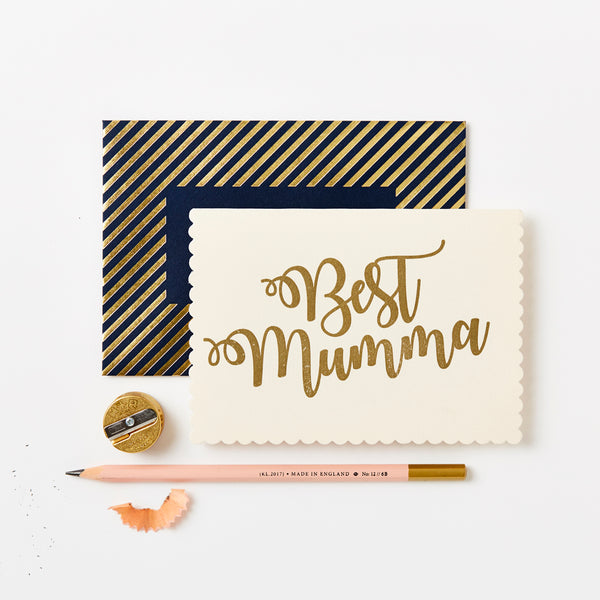 Greeting Card - Best Mumma