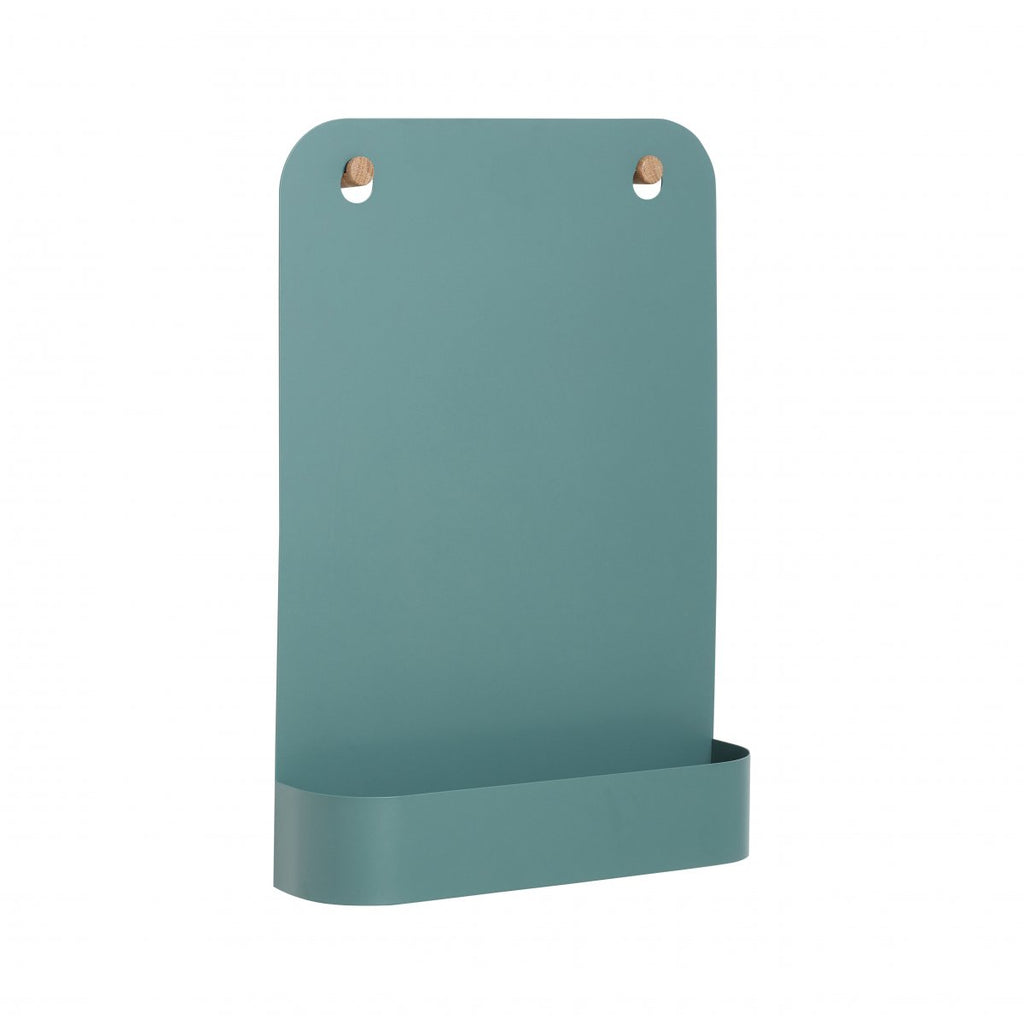 Magnetic Board with Wooden Attachments - Dusty Green
