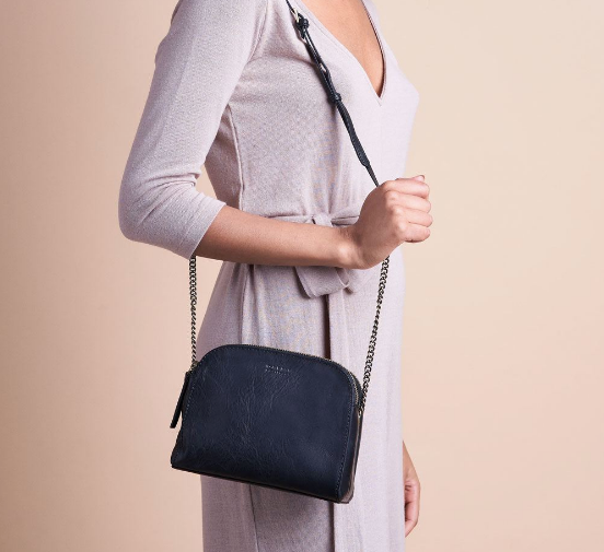 Bag - Emily - Stomboli Leather - Black