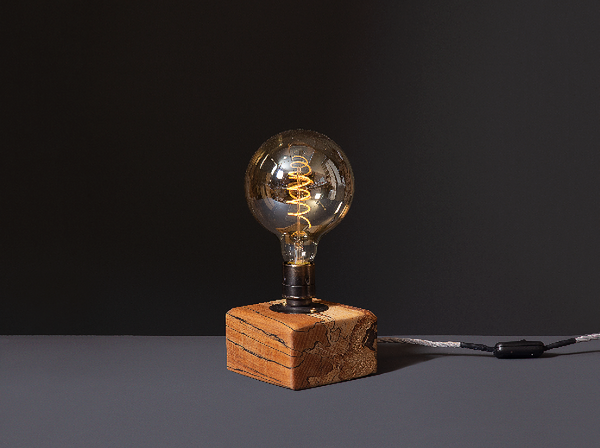 Table Lamp - Reclaimed Wood