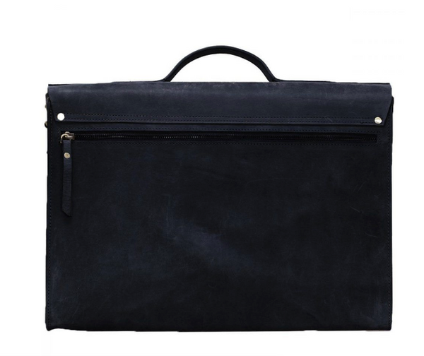 Business Bag - Dirty Harry - XL - Eco Hunter Leather - Black