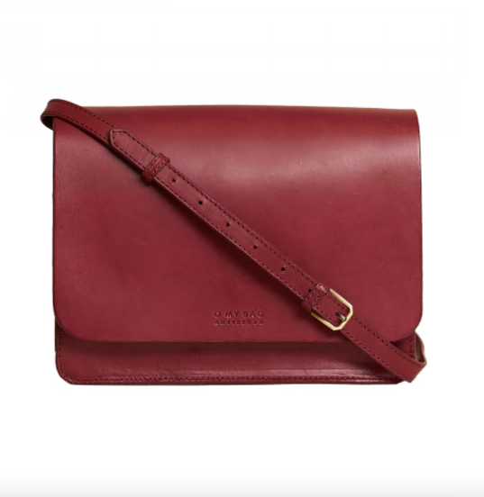 Bag - Audrey - Eco Leather - Classic Ruby
