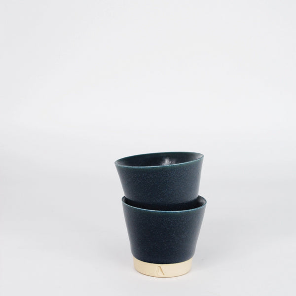 Egg Cups -  Arran St East X Industry - Set of 2 - Ink