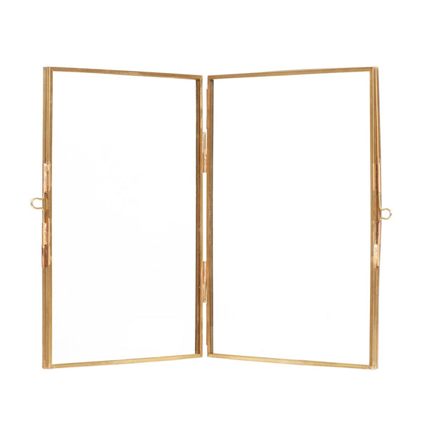 Double Standing Frame - Brass
