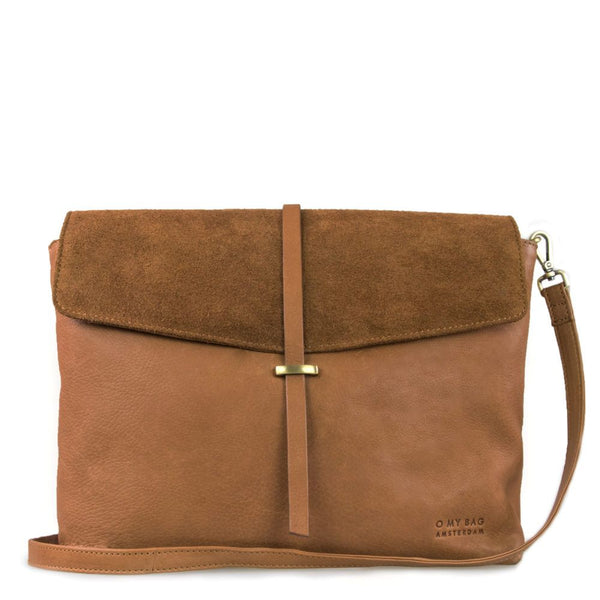 Bag - Ella - Maxi - Eco Soft Grain Leather - Wild Oak
