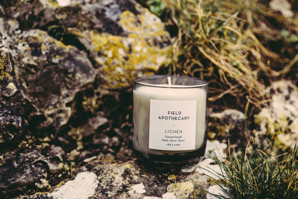 Candle - Lichen - Field Apothecary