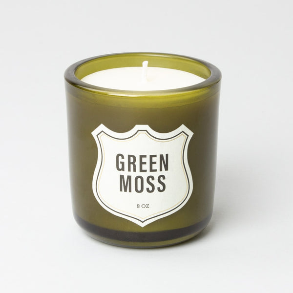 Candle - 8oz - Green Moss