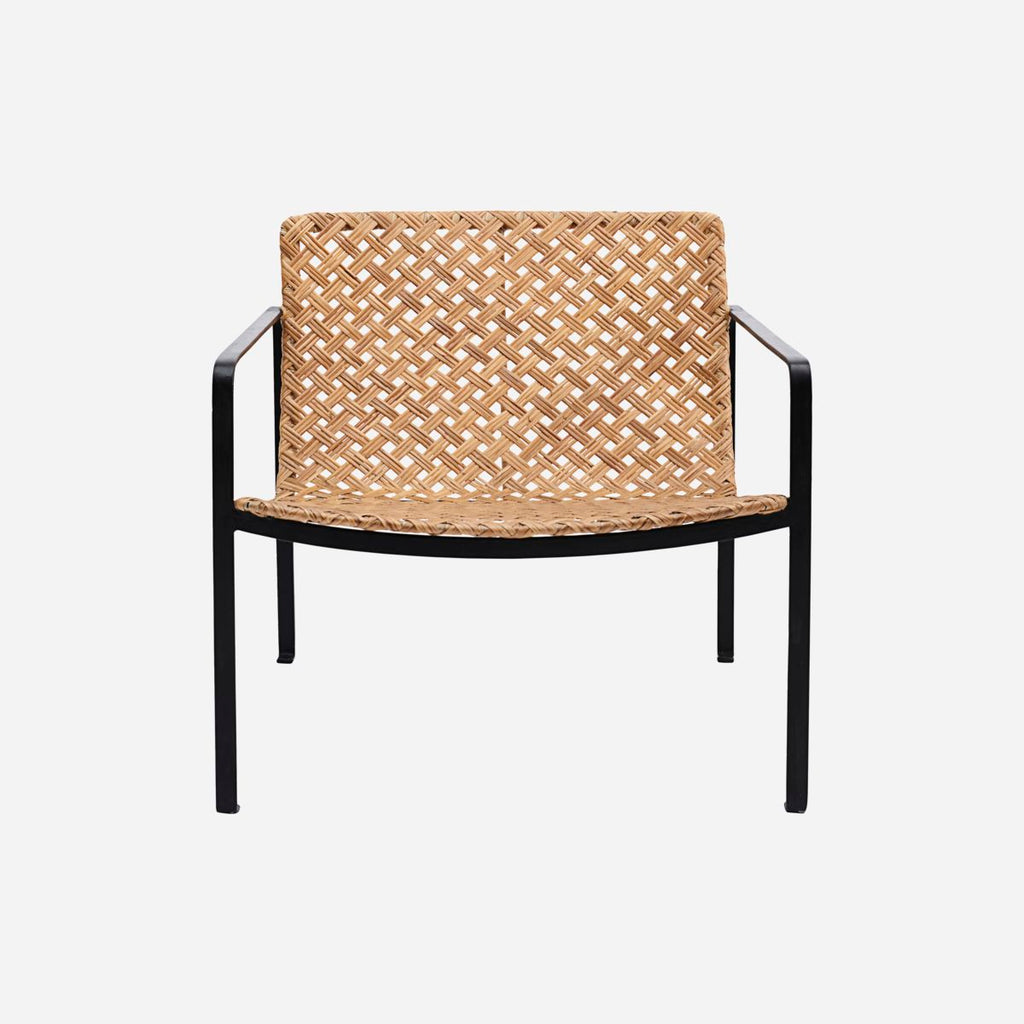 Chair with Armrests - Rattan