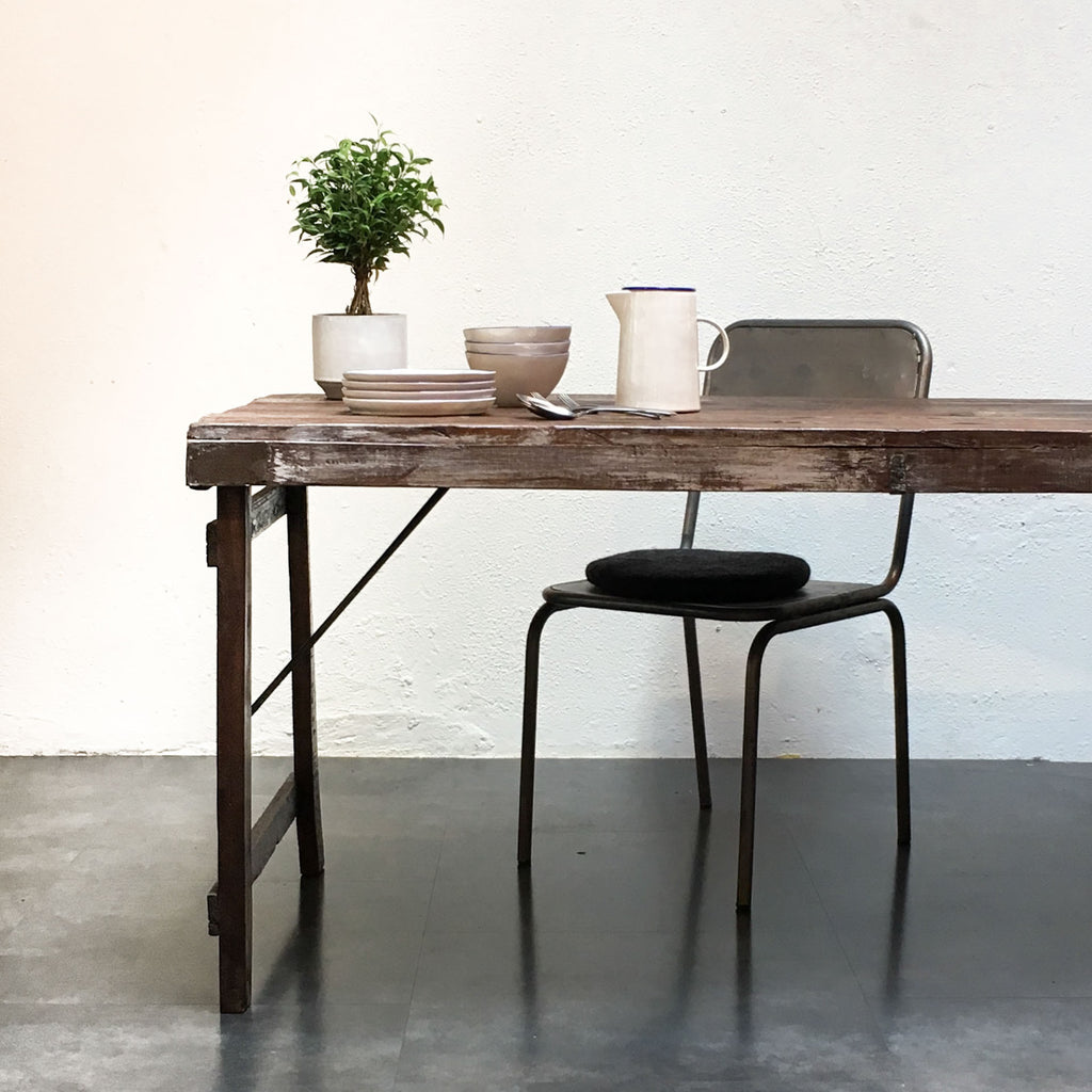 Dining Table - Folding - Vintage