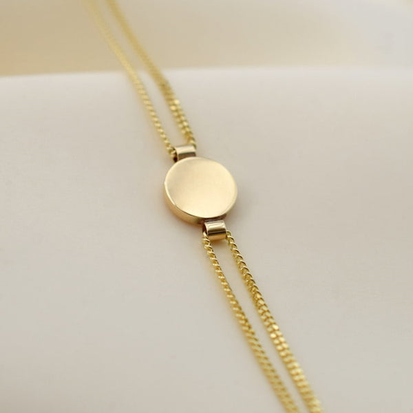 Bracelet - Ama - Disc - 9 ct Gold
