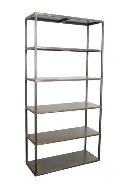 industrial metal shelving unit industrial metal shelving unit - Industrial Metal Shelving
