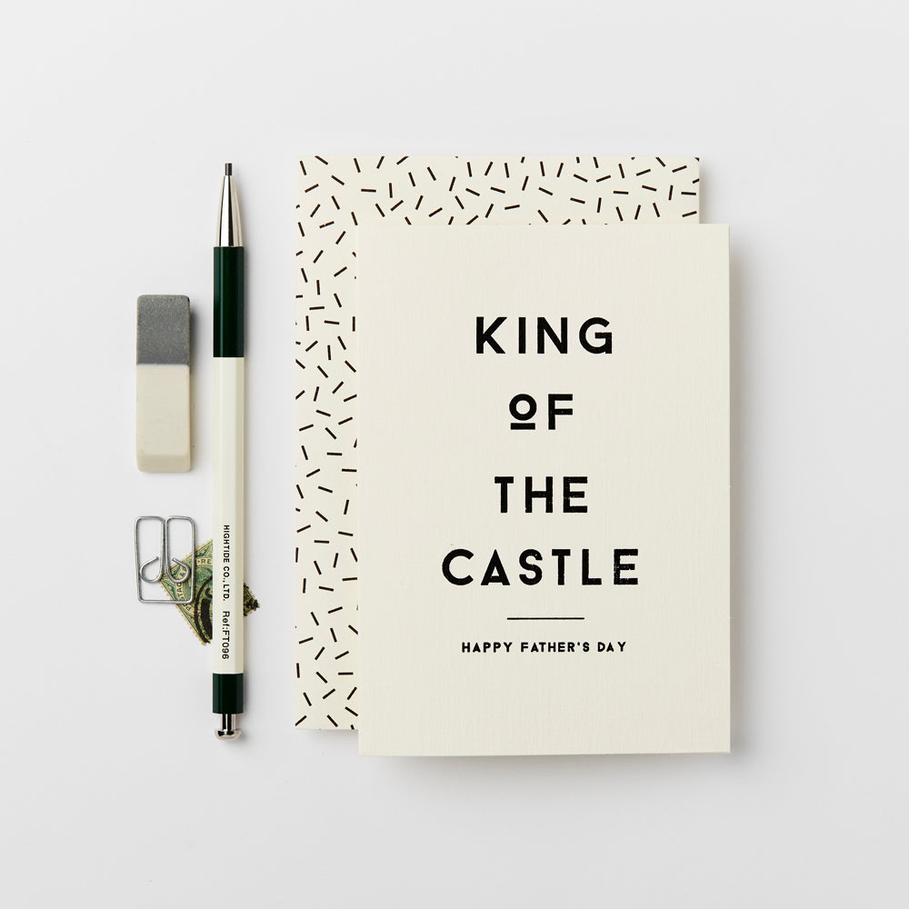 Greeting Card - King of the Castle