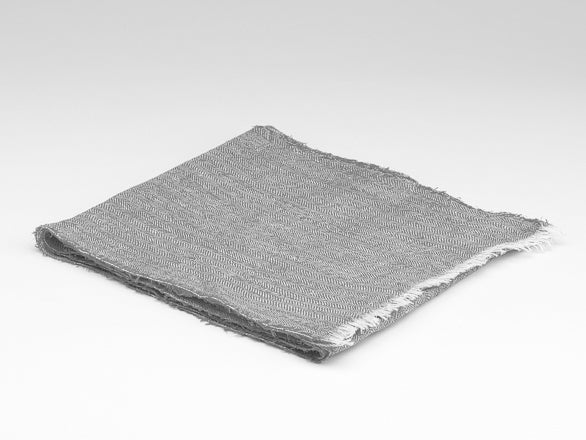 Scarf - Irish Linen - Dove Grey
