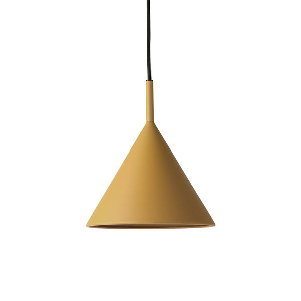 Pendant - Triangle- Matt Ochre