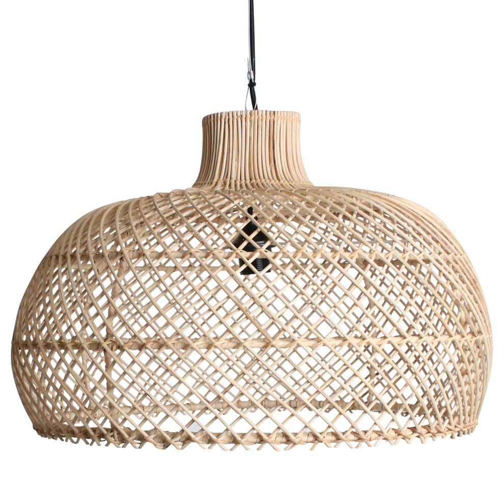 maze lamp pendant handmade rattan natural industry co. Black Bedroom Furniture Sets. Home Design Ideas