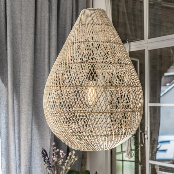 Lamp - Maze/ Wicker - Drop